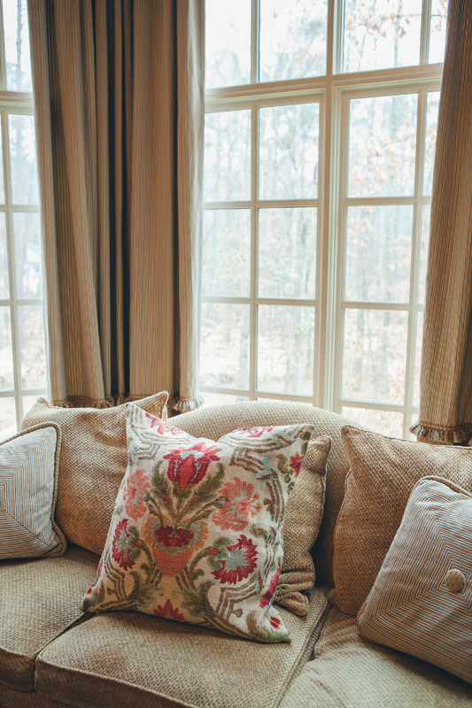 Rosegate Design | Home Interior Design | Alabama (Birmingham, Greystone, Hoover, Homewood, Vestavia, Pelham, Cahaba Heights) | Bedding & Pillows