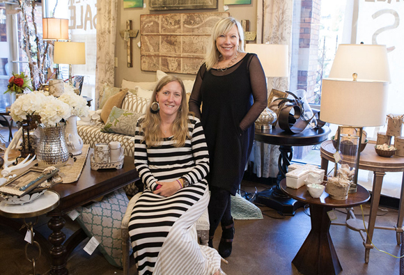 Rosegate Design Owners - Nancy Norris and Abby Leib